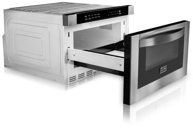 "Microwave Drawer in Stainless Steel ZLINE 24"" - America Best Appliances, LLC"