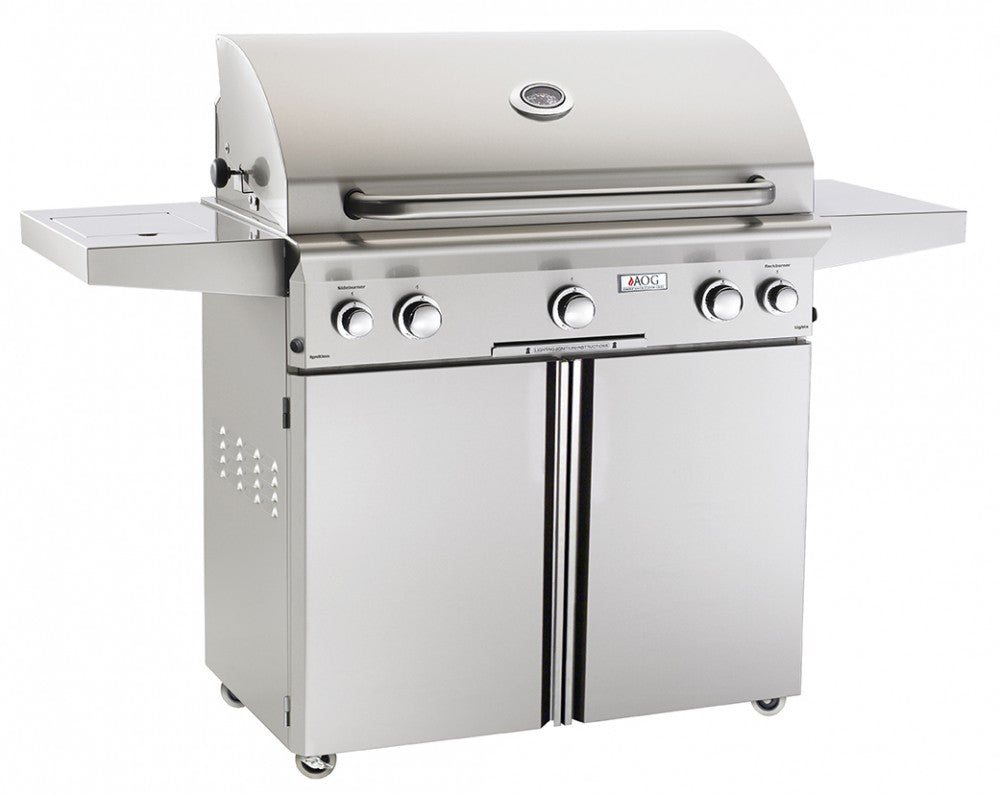 "36"" PORTABLE GRILL W/HALOGEN INTERIOR LIGHTS  AOG36PCL  CG - America Best Appliances, LLC"