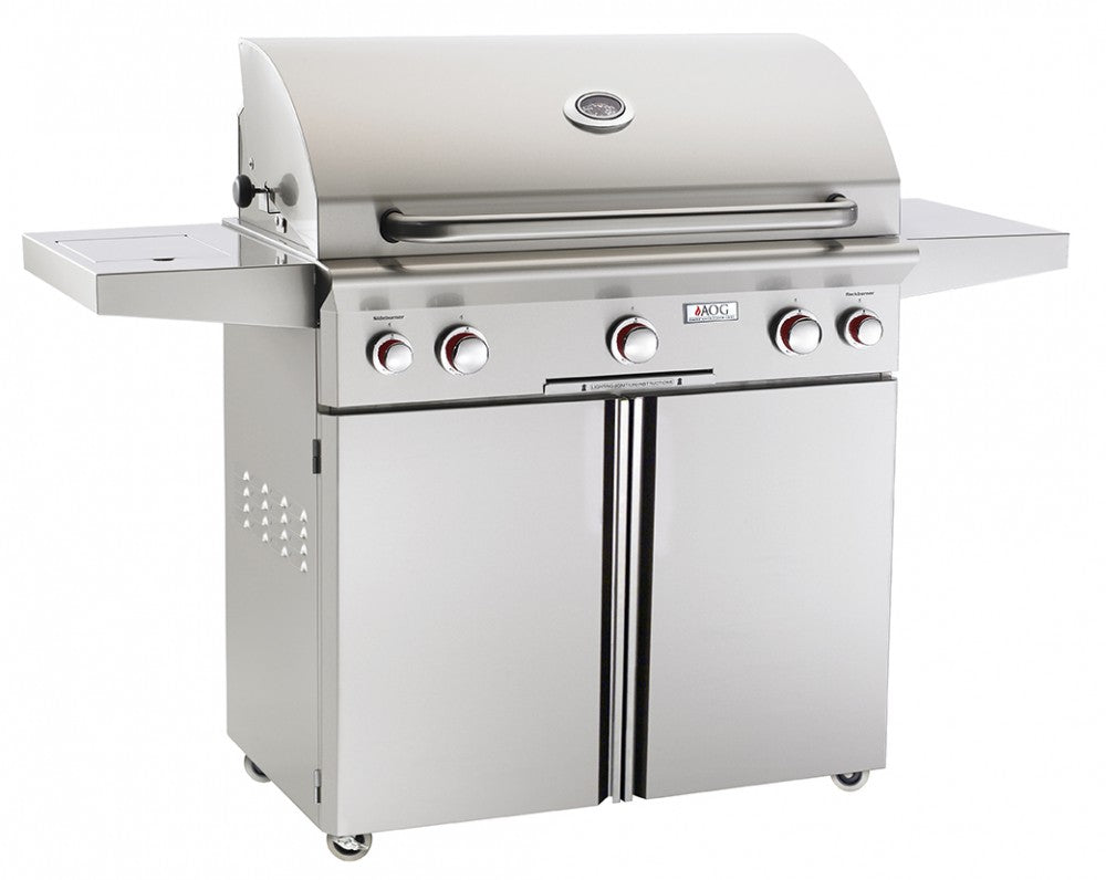 "36"" PORTABLE GRILL W/PIEZO ""RAPID LIGHT"" IGNITION AOG36PCT  CG - America Best Appliances, LLC"