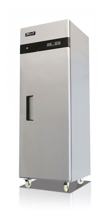 "Migali C-1R-HC 28.7"" One Section Reach In Refrigerator, (1) Right Hinge Solid Door, - America Best Appliances, LLC"