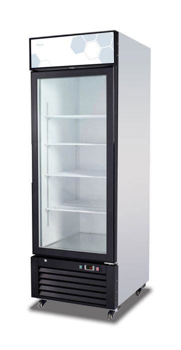 "Migali C-23RM-HC 27"" One Section Glass Door Merchandiser, (1) Right Hinge Door, 115v - America Best Appliances, LLC"