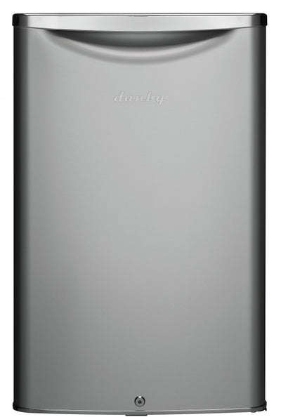 Danby 4.4 cft All Refrigerator in Iridium Silver DAR044A6DDB - America Best Appliances, LLC