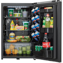 Danby Contemporary Classic 4.4 cu. ft. Mini Fridge in Midnight Metallic Black DAR044A6MDB - America Best Appliances, LLC