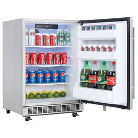 Danby Sihouette Outdoor Rated Mini Fridge in Stainless Steel  DAR055D1BSSPRO - America Best Appliances, LLC