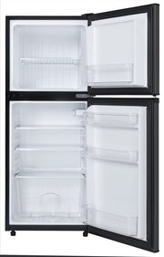 Danby 4.7 cu. ft. 2-Door Mini Fridge in Black Stainless Steel DCR047A1BBSL - America Best Appliances, LLC
