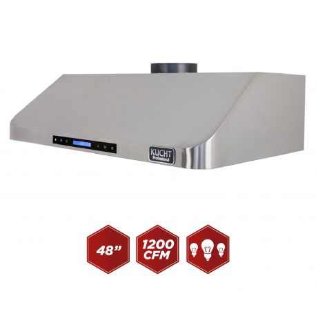 "Kucht 48"" Under the cabinet range hood Stainless Steel  KRH4801U - America Best Appliances, LLC"