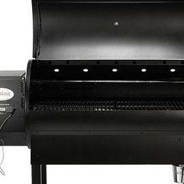 Louisiana Grills LG1100 Wood Fired Pellet Grill with Flame Broiler   CG - America Best Appliances, LLC