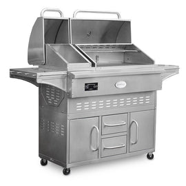 ESTATE LOUSIANA WOOD PELLET GRILL  LG860C     CG - America Best Appliances, LLC