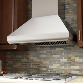 Remote Blower Wall Mount Range Hood in Stainless Steel (687-RS-36)  ZLINE 36 in. - America Best Appliances, LLC