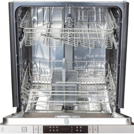 Decibel Semi-hidden (Covered Front) Built-In Dishwasher (Fingerprint-Resistant Stainless Steel with Stainless Steel Tub) (Common: 24-in; Actual: 24-in)   ZLINE DW-304-24 40- - America Best Appliances, LLC