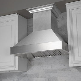 Snow Finish Range Hood with Snow Finish Shell (8654SN-48)  48""