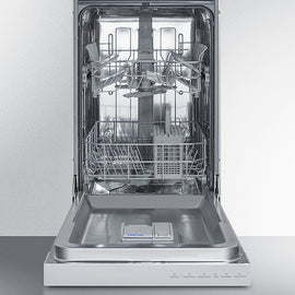 "Summit Summit 18"" Wide Built-In Dishwasher - America Best Appliances, LLC"