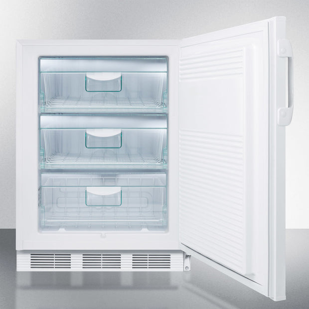 "Accucold 24"" Wide All-Freezer, ADA Compliant - America Best Appliances, LLC"