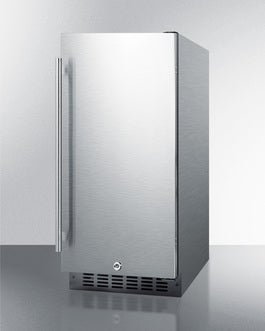 Summit Mini Fridge 23.5 inch ALR15BCSS - America Best Appliances, LLC