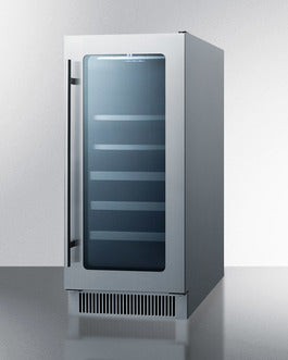 Summit Beverage Refrigerators CL151WBVCSS sized to fit in space-challenged kitchens - America Best Appliances, LLC