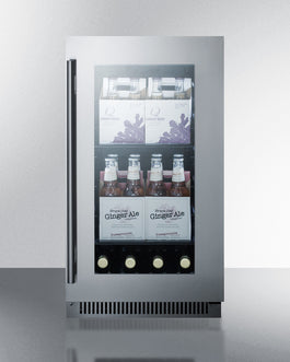 Summit Mini Fridge CL181WBV sized to fit in space-challenged kitchens - America Best Appliances, LLC