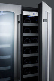 Summit Wine & Beverage Refrigerators CL242WBVCSS sized to fit in space-challenged kitchens - America Best Appliances, LLC