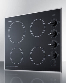 Summit Radiant Electric Cooktop  CR425BL - America Best Appliances, LLC