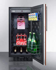 Summit Mini Fridge 15 Inch Undercounter Beverage Center  FF1532BIF - America Best Appliances, LLC
