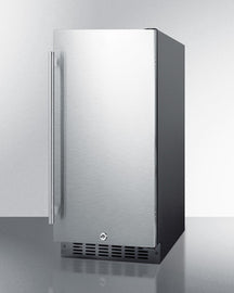 Summit Mini Fridges ALR15BSS sized to fit in space-challenged kitchens - America Best Appliances, LLC