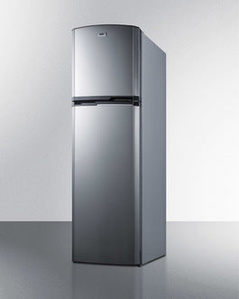 Summit Top-Mount-Refrigerator FF948SS sized to fit in space-challenged kitchens - America Best Appliances, LLC