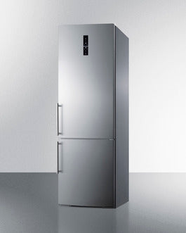 Summit Bottom-Mount-Refrigerator FFBF249SSIM sized to fit in space-challenged kitchens - America Best Appliances, LLC