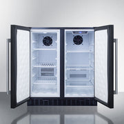 Summit Mini Fridges FFRF3070B sized to fit in space-challenged kitchens - America Best Appliances, LLC