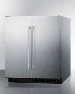 Summit Mini Fridges FFRF3075WCSS sized to fit in space-challenged kitchens - America Best Appliances, LLC