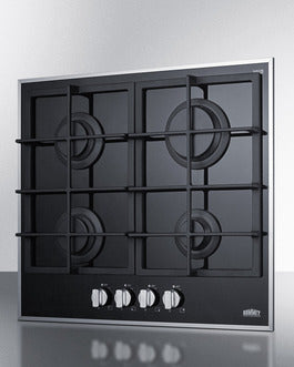 Summit 24inch Gas Cooktop GC424BGL - America Best Appliances, LLC