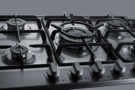 Summit  30 Inch Gas Sealed Burner Cooktop  GC527SSTK30 - America Best Appliances, LLC