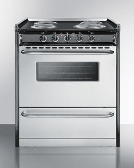 Summit Professional Series 30 Inch Slide-in Electric Range  TEM210BRWY - America Best Appliances, LLC