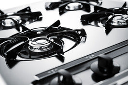 Summit Gas Cooktops ZNL033 sized to fit in space-challenged kitchens - America Best Appliances, LLC