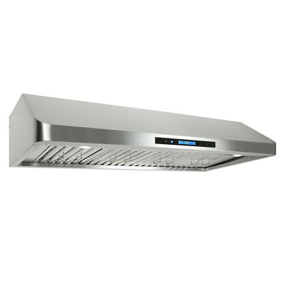 "Cosmo 36 in. Ducted Under Cabinet Range Hood in Stainless Steel COS-QS90 (36"") - America Best Appliances, LLC"