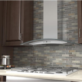 Wall Mount Range Hood in Stainless Steel & Glass (KN4-42)  ZLINE 42 in. - America Best Appliances, LLC