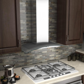 Wall Mount Range Hood in Stainless Steel & Glass (KN4-48)  ZLINE 48 in. - America Best Appliances, LLC