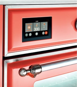 "Majestic II Series Induction Range with 6 Elements   Dual Ovens  TFT Control Display   Triple Glass Cool Oven Door  Bronze Trim   in Custom RAL Color""UMDI10NS3AWB 40 - America Best Appliances, LLC"