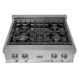 Porcelain Rangetop with 4 Gas Burners (RT30)  ZLINE 30 in. - America Best Appliances, LLC