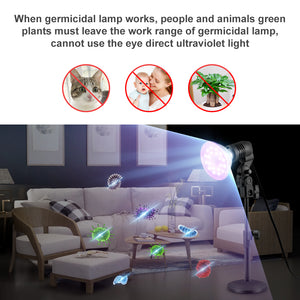 Household strong ultraviolet sterilization lamp solve invisible bacteria Portable Home UV Germicidal Lamp Desktop Mobile Disinfection lamp
