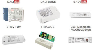 Dali/Triac/0-10V/Color-Dim LED Panel Lights
