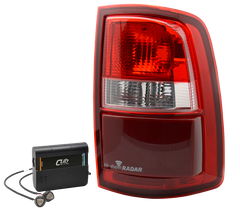 Truck Tail Light Blind Spot Monitor Systems