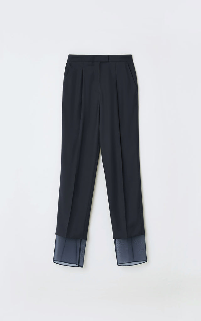 Layered Trouser Navy