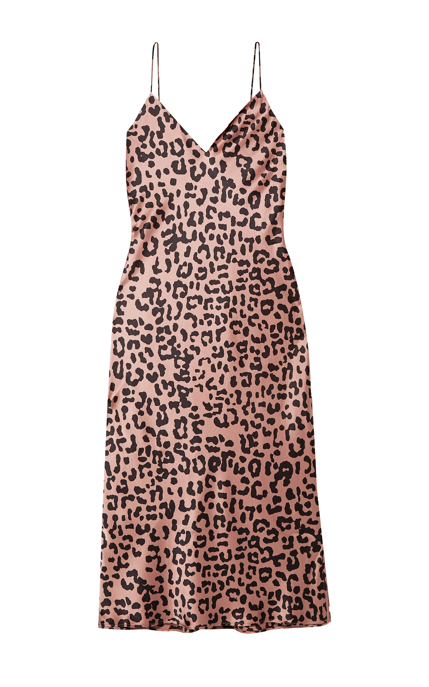 Raven Leopard Slip Dress