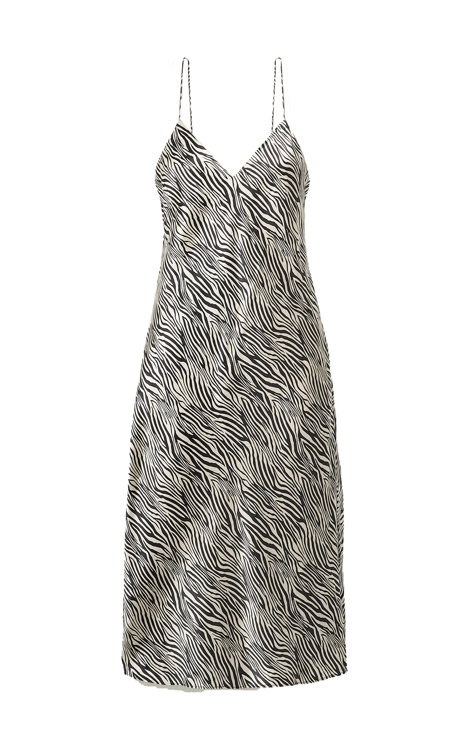 Cami NYC Raven Zebra Slip Dress