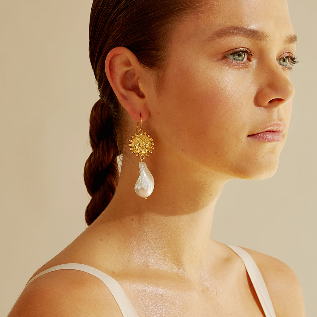 Amber Screats Gemini Earrings
