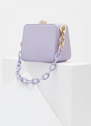 The Volon Cube Chain Purple
