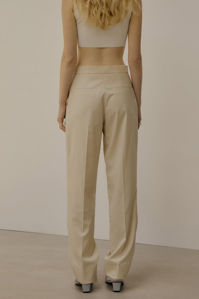 Layered Trouser Nude
