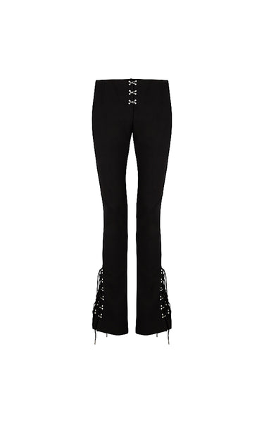 Laced Release Pant Black