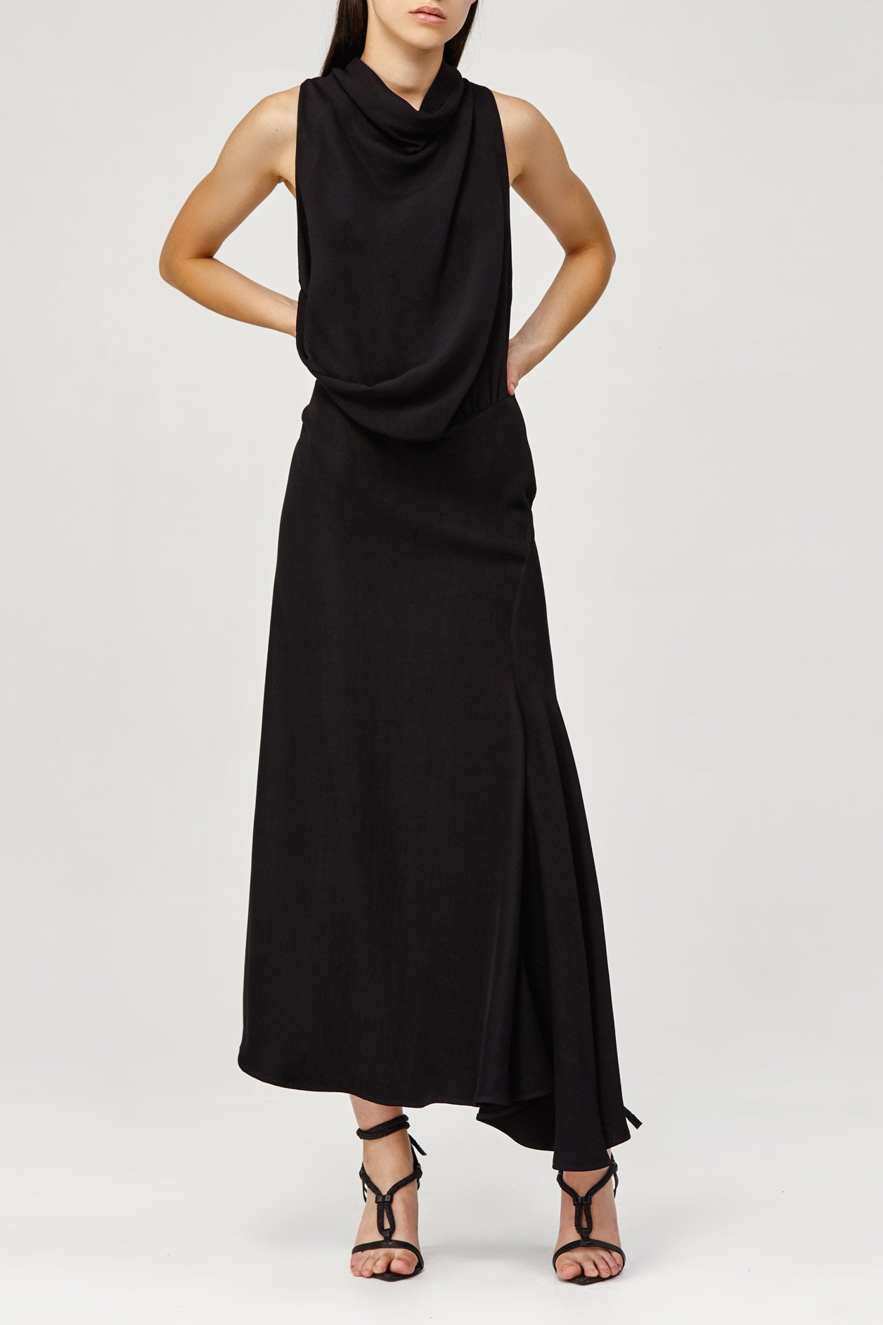 Acler Indiannah Black Dress