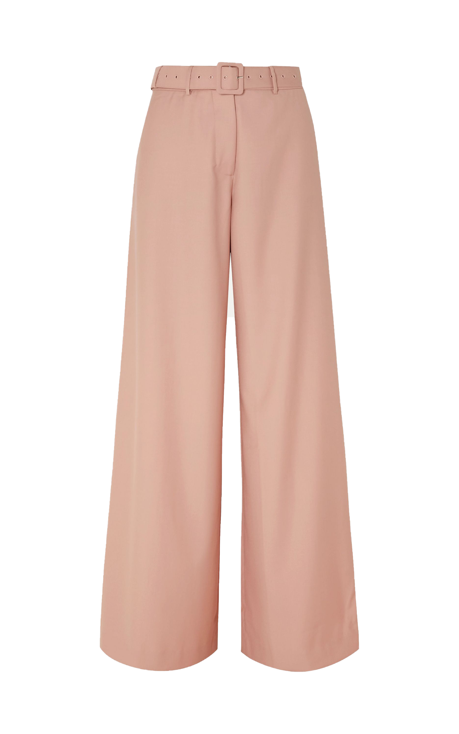 Max Belted Wide-leg Pants