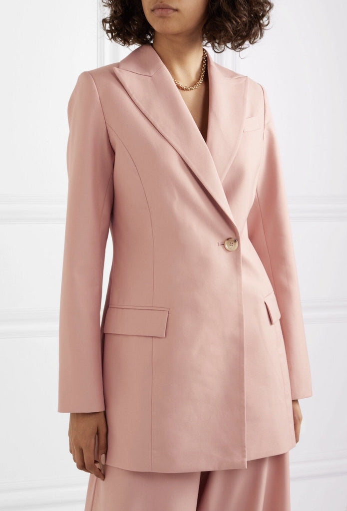 Sienna Double-Breasted Blazer Pink